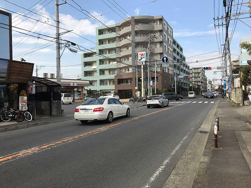 江ノ島と藤沢を結ぶ国道467号線
