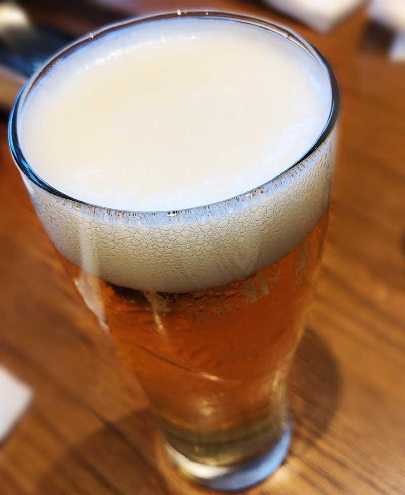 珍しいハイネケンの生ビール