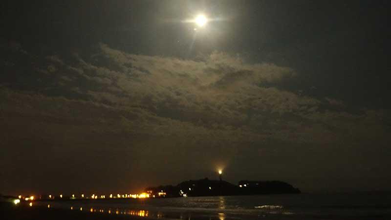 こんなに明るい満月は久しぶり!
