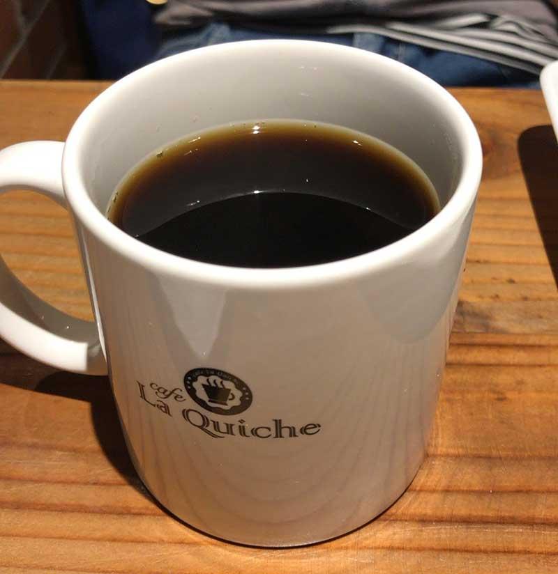 コーヒーで一息つかないと動けない