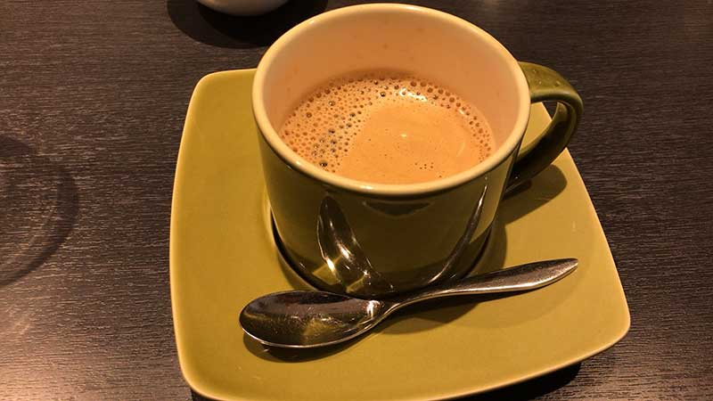 コーヒーでほっこり