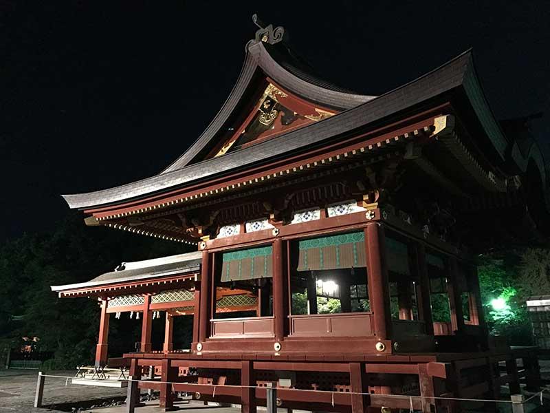 鎌倉鶴岡八幡宮の舞殿