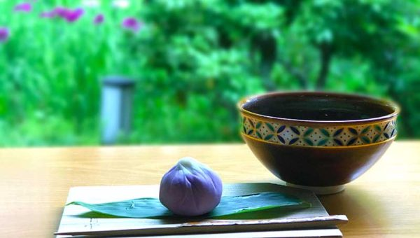  【寺カフェと花の聖地・北鎌倉東慶寺】期間限定の茶室「白蓮舎」で花菖蒲を楽しむ茶会