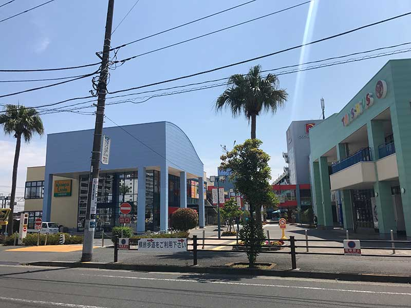 OSC湘南シティの青色の外観