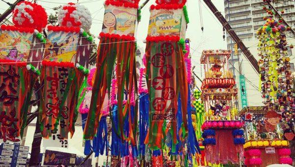 【湘南平塚七夕まつり2017】今年の天気予報は?雨でも大アーケードで濡れない!浴衣も着られるよ!