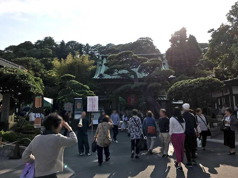大混雑の長谷寺