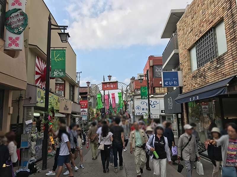 6月の鎌倉は特に混雑します