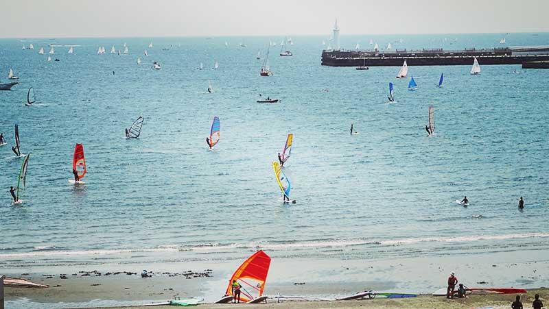 風が吹いたらウィンドサーフィン日和