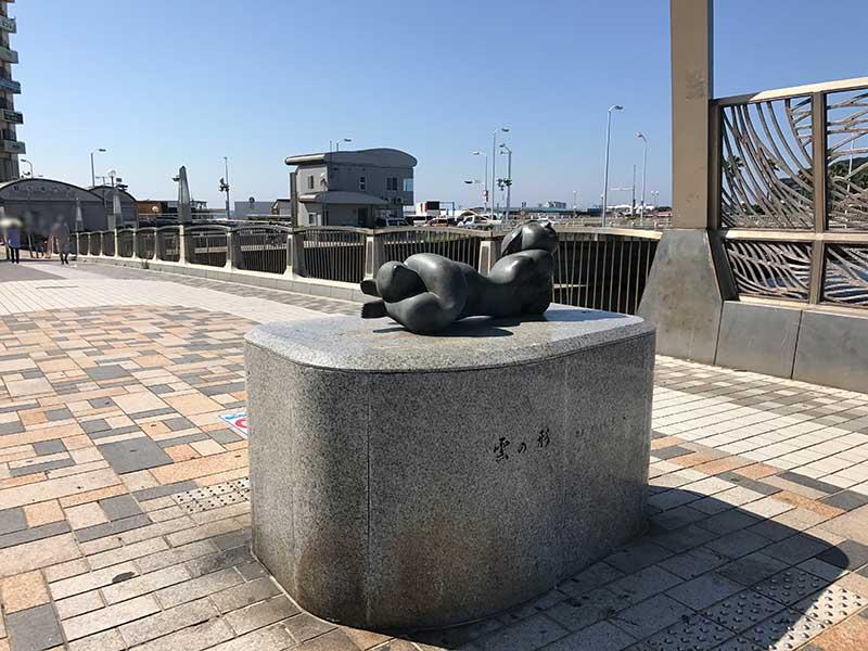 橋の真ん中の写真スポット