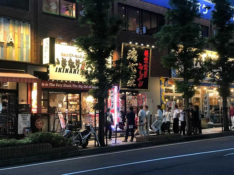 2017年夏になっても大人気のいきなりステーキ藤沢店