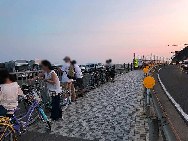 由比ヶ浜花火大会の穴場観覧スポット