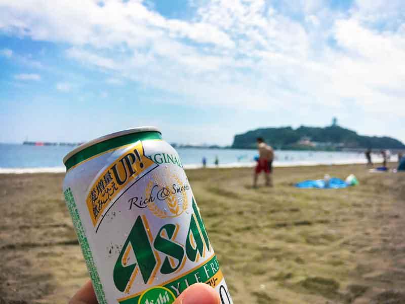 いつものビーチビール