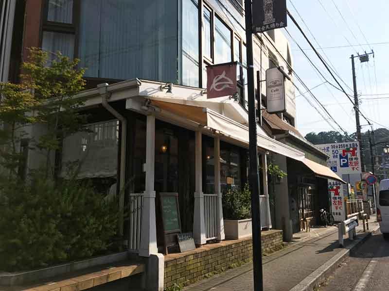 観音大通りのおしゃれなカフェ
