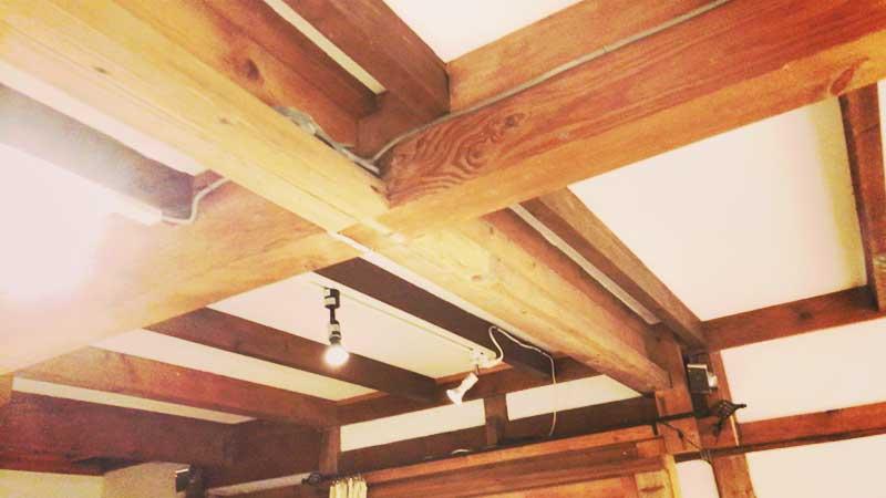 古民家風の天井