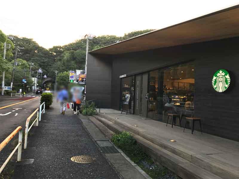 鎌倉市役所の向かいにあります
