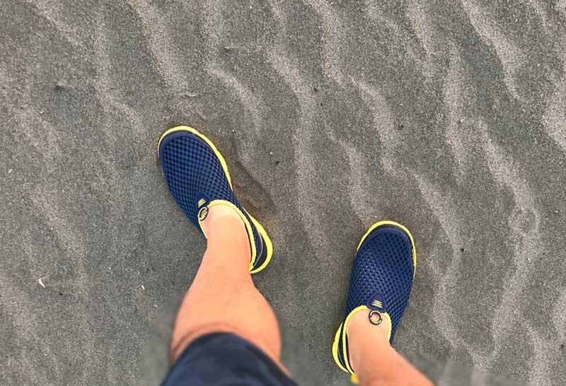 砂浜で快適に使えて