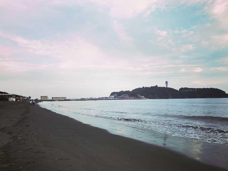 江ノ島も秋模様