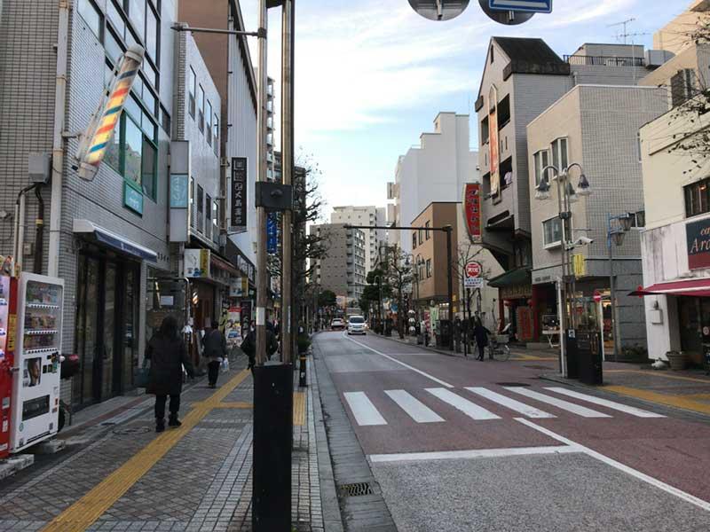 藤沢駅北口の銀座通り