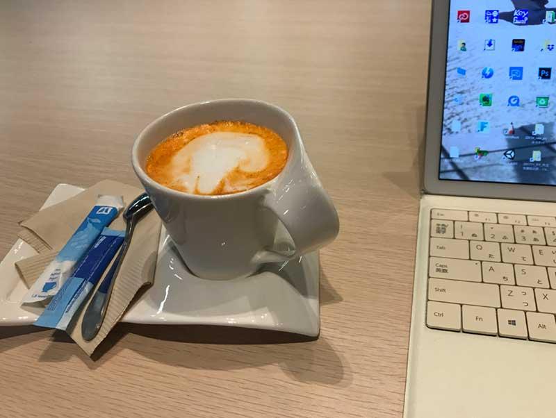 コーヒー1杯無料サービス