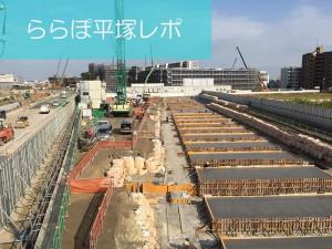 【ららぽ平塚レポ3】2015年9月の進み具合は?建物が出来てきた!