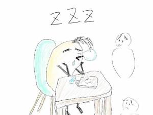 コワーキングスペースで寝てはいけません