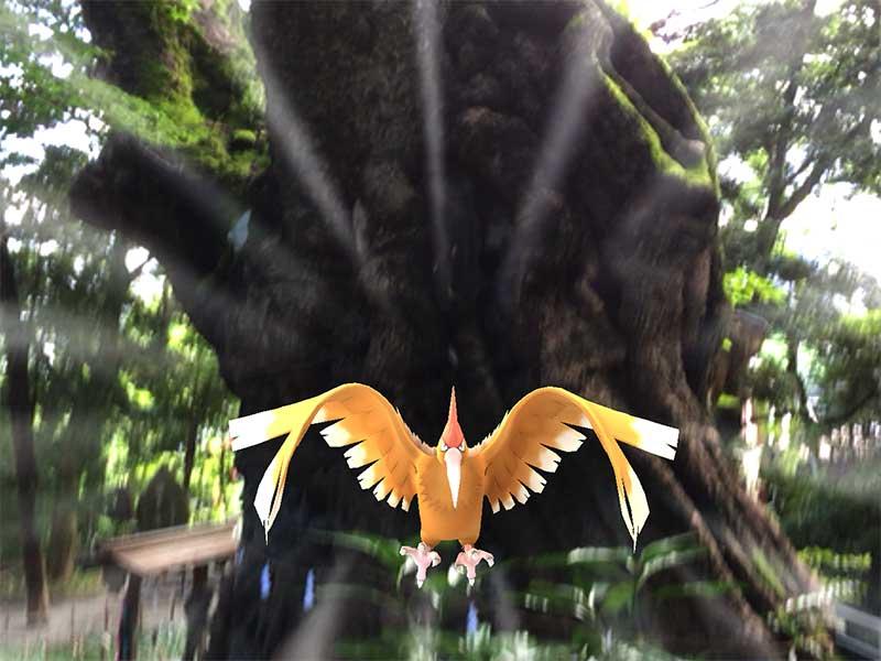 パワースポット「来宮神社」でポケモンGO!怪奇現象が起きてゾゾッとした件