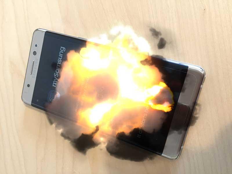【GalaxyNote7】海外通販で買ったけど爆発怖くてリコールに応じました。
