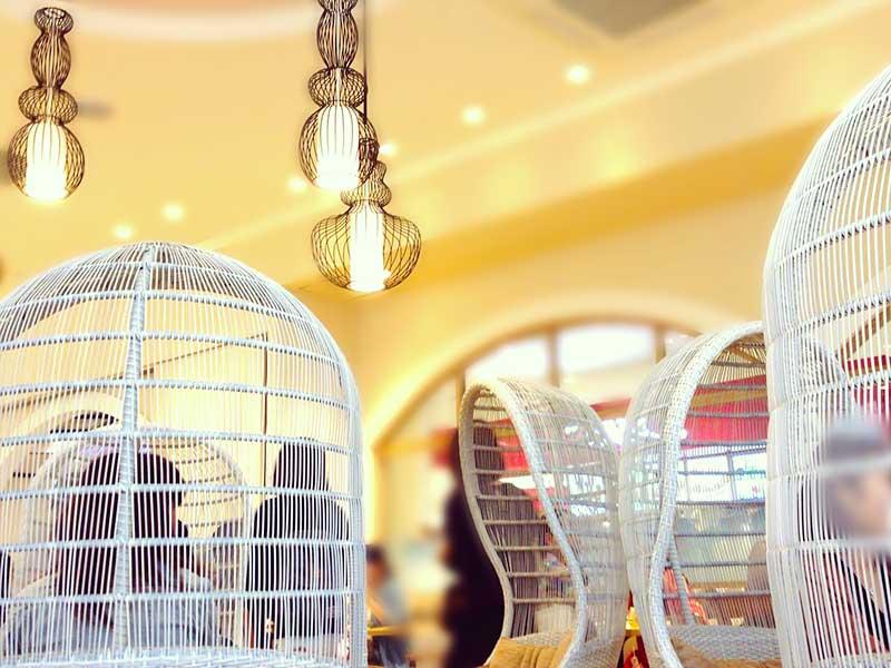 【ららぽーと湘南平塚】ガレット・クレープ専門店「SUCRE」の鳥かごシートで巣ごもりランチ