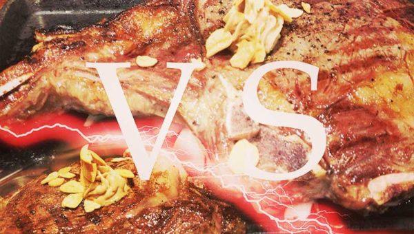  【いきなりステーキ藤沢】店舗限定骨付きリブロースVS普通のリブロースを食べ比べ!どっちが食べやすい?味はどう?