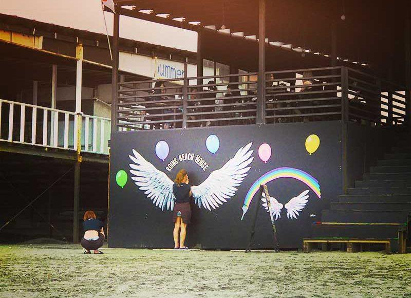 【2017江ノ島Instagramスポット】西浜ROINS(ロインズ)に天使の羽が降臨!水着で写真を撮ってSNS映え間違い無し!