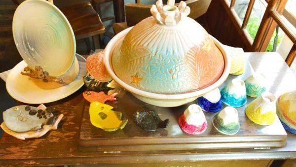 【しまカフェ江のまる】食事だけじゃない!1点物のお鍋が買える古民家ギャラリーcafe