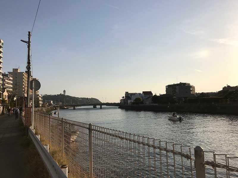 江ノ島へ通じる境川