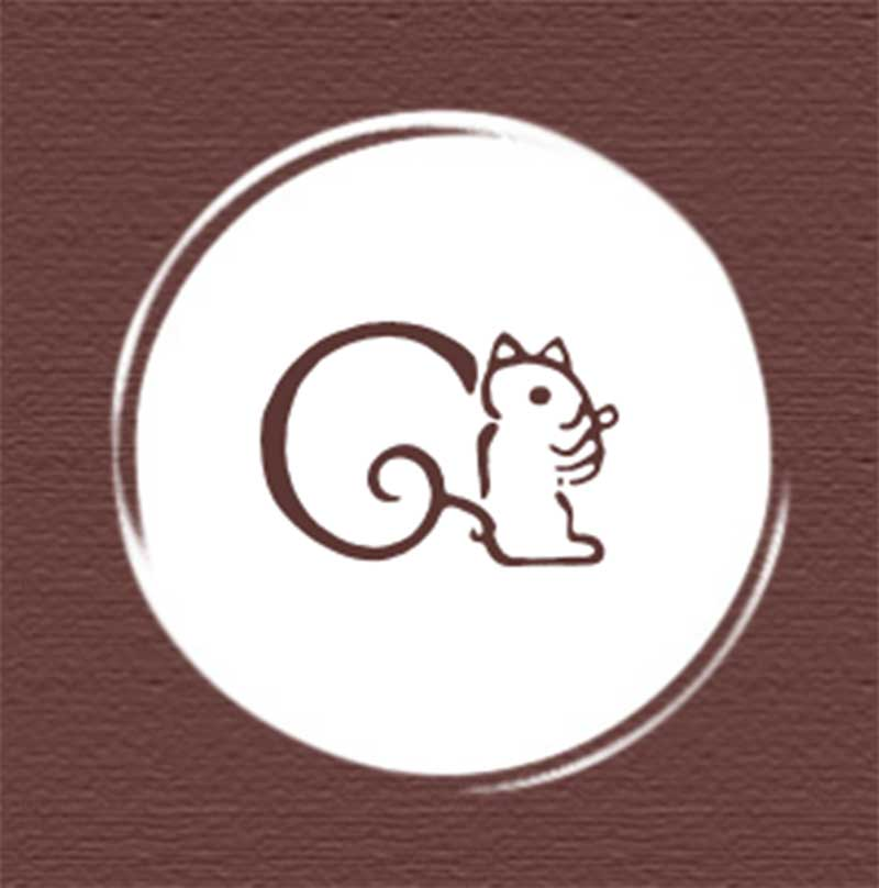 鎌倉紅谷のリスのキャラクター