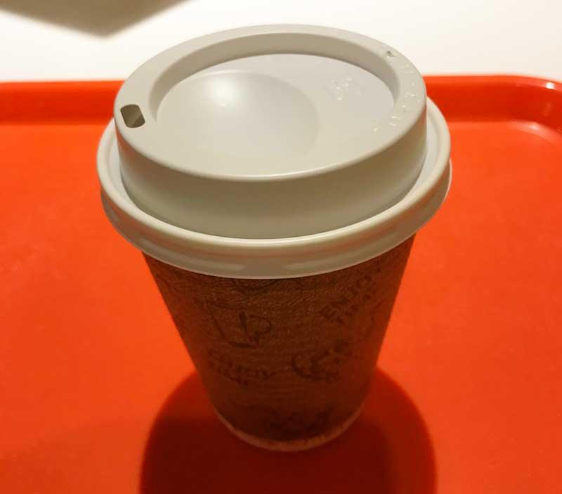 食後のコナコーヒー