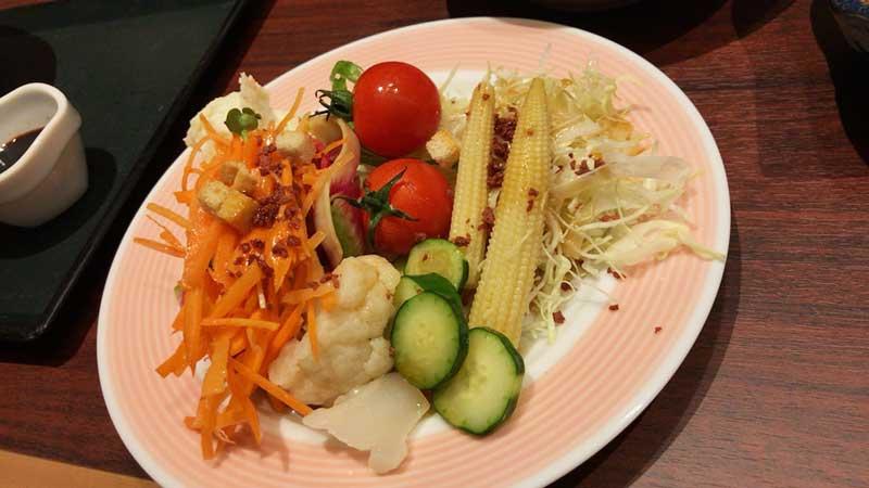 たっぷり野菜で体の中をデトックス