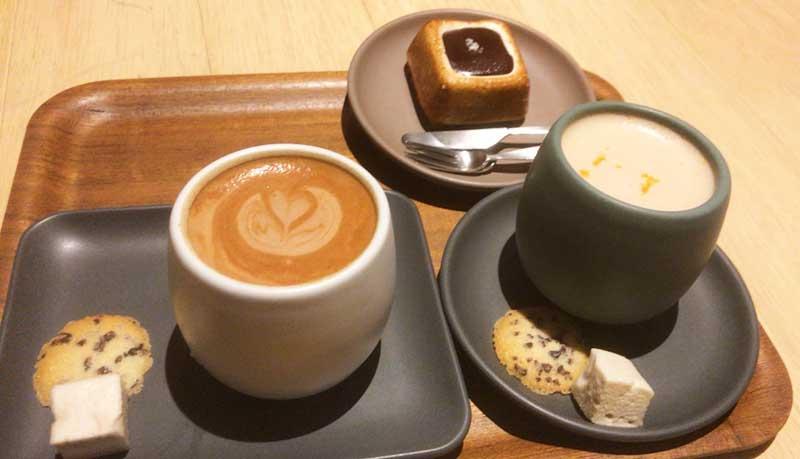 冬の鎌倉デートの締めにホットチョコレート