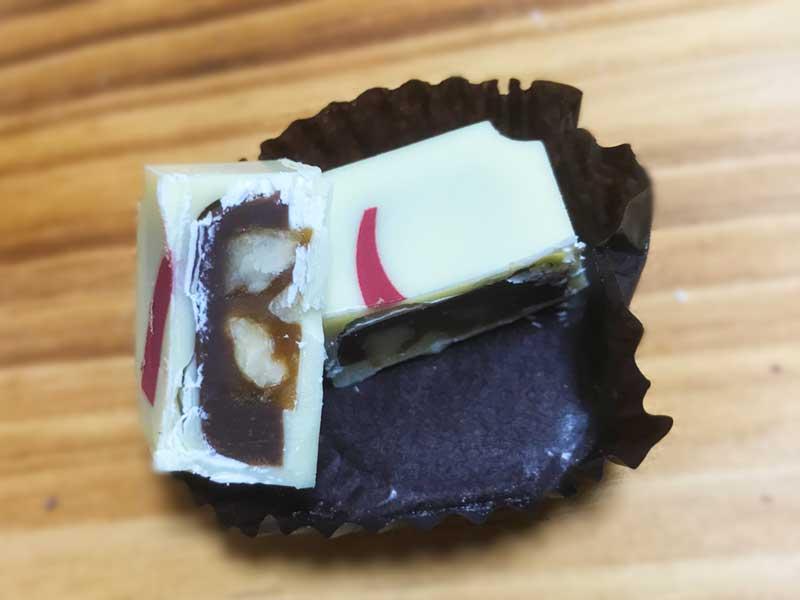 ホワイトチョコの方が洋菓子感が強まりますね