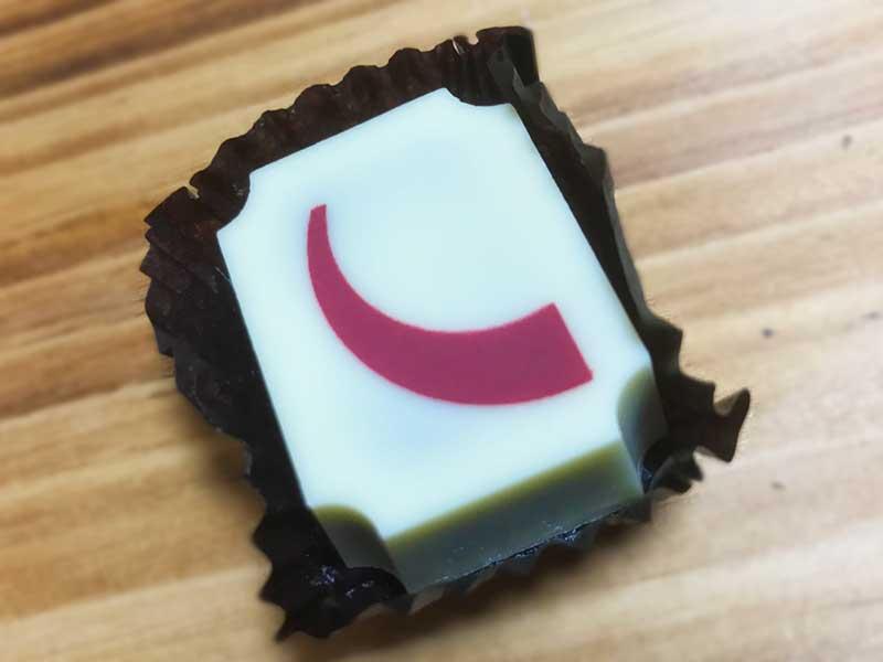 クルミッ子とホワイトチョコレート