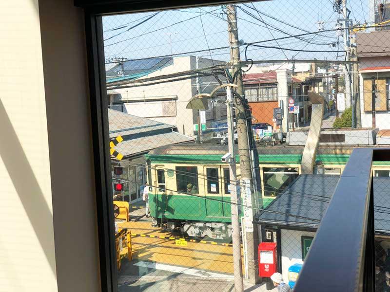 江ノ電がキタ~