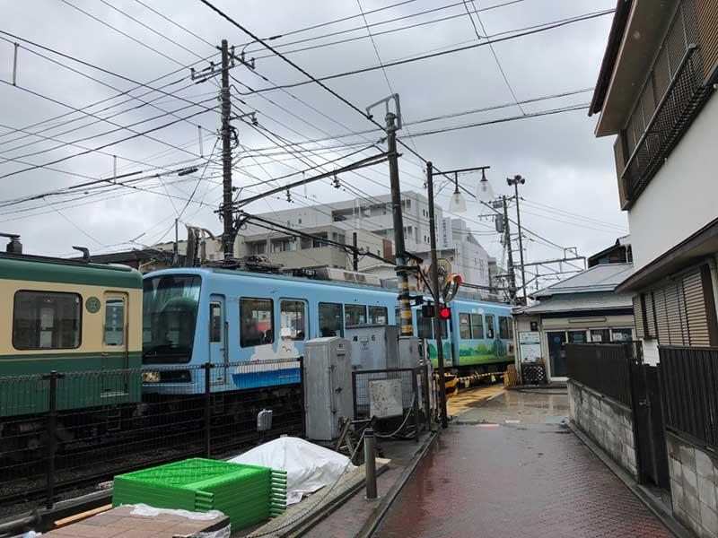 江ノ電江ノ島駅の裏エリア