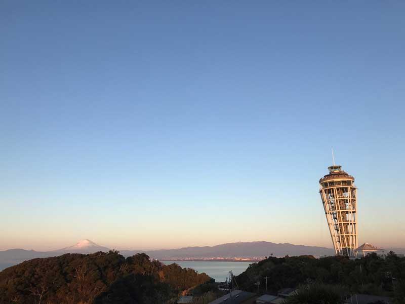 さらに江ノ島タワーは激寒!