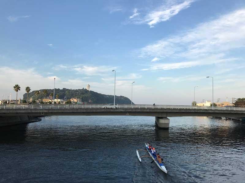 カヤックやSUPの独壇場だったこの川でサーフィンも楽しめる?