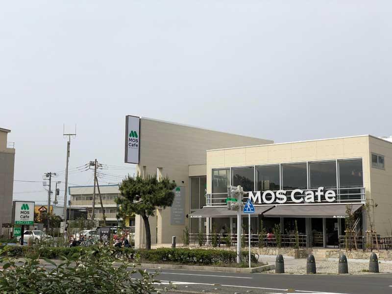 リニューアルオープンしたモスカフェ江ノ島店