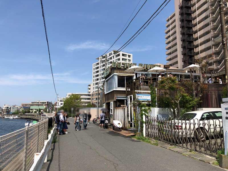 江ノ島一番人気カフェのDIEGOも大行列!