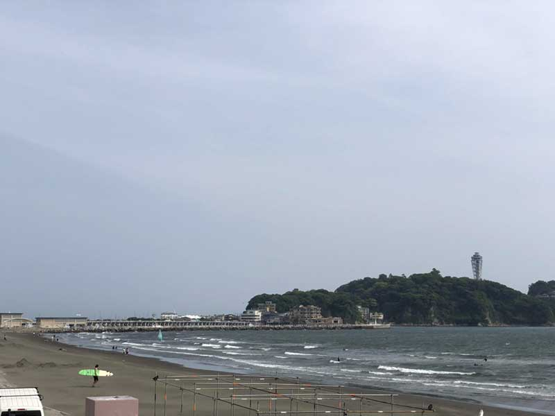 初夏の江ノ島
