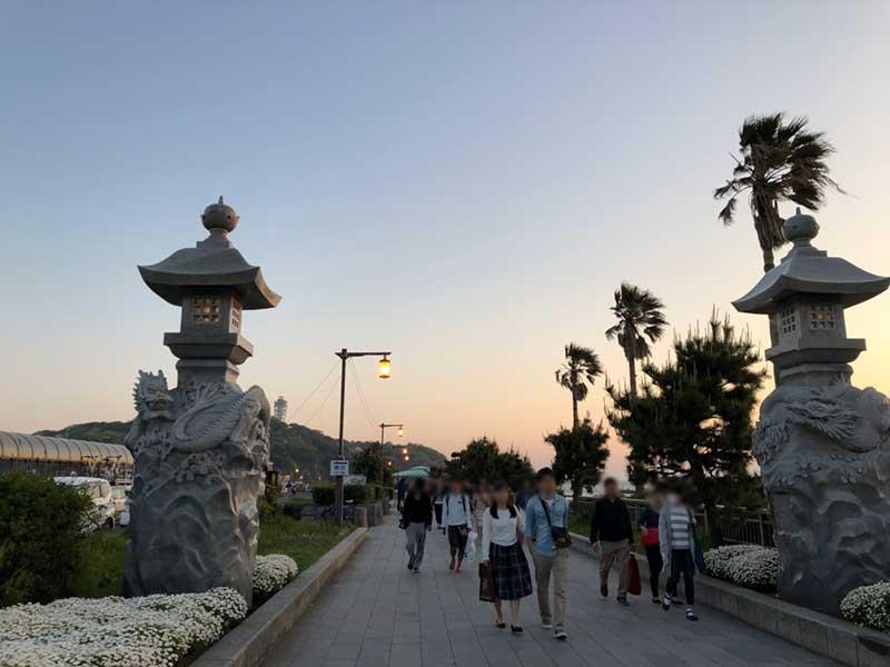 江ノ島へ渡る橋