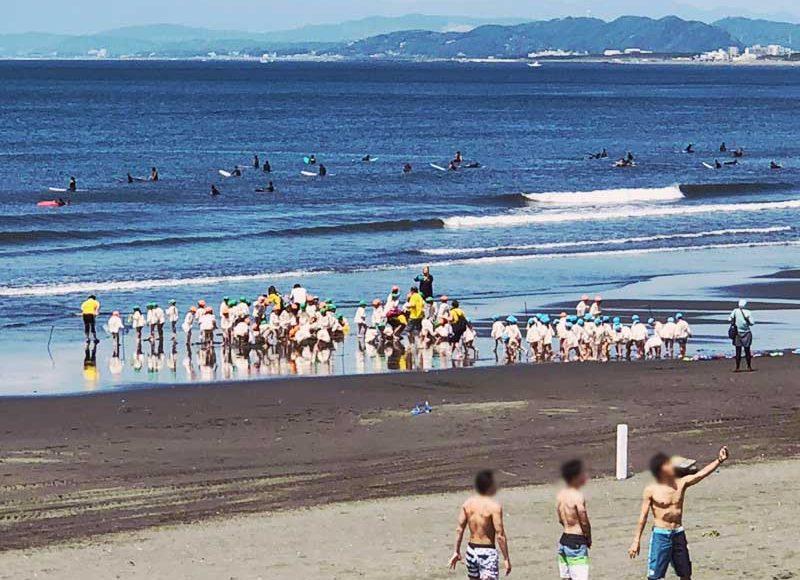 【2018湘南江ノ島海開きいつ?】海の家工事中の6月でも海水浴できる?