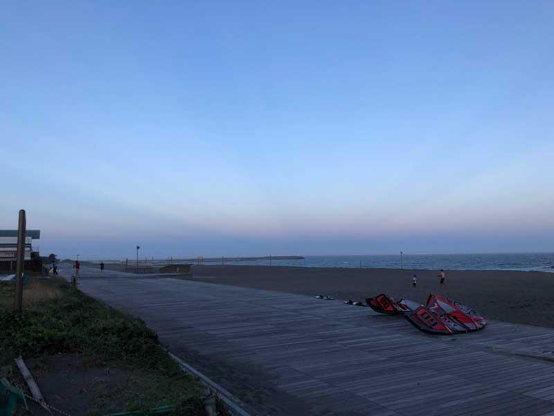 これが平塚の海だ!