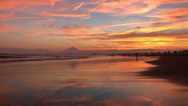 【江ノ島の夕陽が半端ない!】おすすめ撮影場所・時間は?日没後にもう一度シャッターチャンスあり!