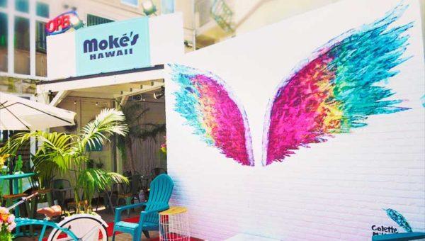 【Moke's Hawaii江ノ島レビュー】ハワイで人気のパンケーキの味は?天使の羽で行列できるか!?